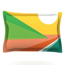 Beach by Budi Kwan Cotton Pillow Sham
