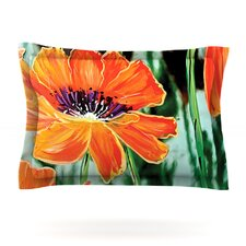 Through the Looking Glass by Christen Treat Cotton Pillow Sham