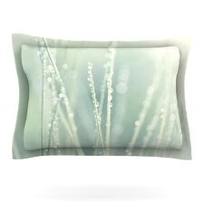 Blue Ice by Ingrid Beddoes Woven Pillow Sham