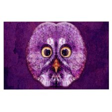 Hoot! by Ancello Owl Decorative Doormat