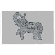 Elephant by Belinda Gillies Decorative Doormat