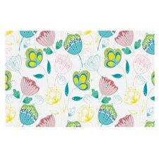 Indie Floral by Anneline Sophia Decorative Doormat