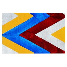 Zig Zag by Brittany Guarino Decorative Doormat