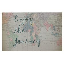 Journey World Map by Catherine Holcombe Decorative Doormat