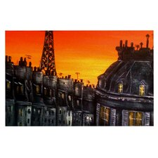 Paris by Christen Treat Decorative Doormat