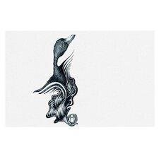 Swan Horns by Graham Curran Decorative Doormat