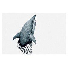 Shark Record by Graham Curran Decorative Doormat
