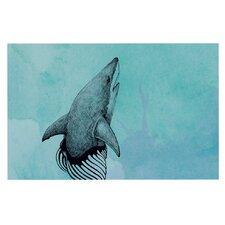 Shark Record III by Graham Curran Decorative Doormat