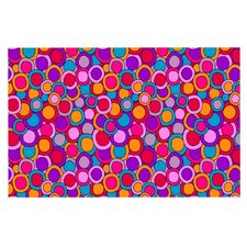 My Colourful Circles by Julia Grifol Decorative Doormat
