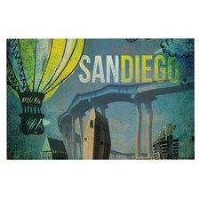 San Diego by iRuz33 Decorative Doormat