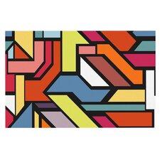 Abstract Shapes by Danny Ivan Decorative Doormat