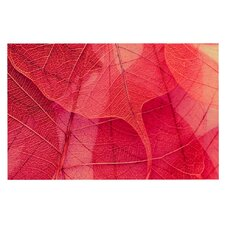 Delicate Leaves by Ingrid Beddoes Decorative Doormat