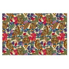 My Boobooks Owls by Julia Grifol Decorative Doormat
