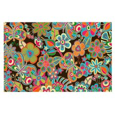 My Butterflies and Flowers by Julia Grifol Decorative Doormat