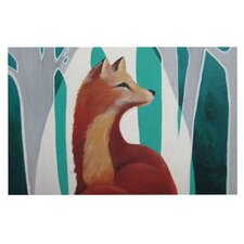 Fox Forest by Lydia Martin Decorative Doormat