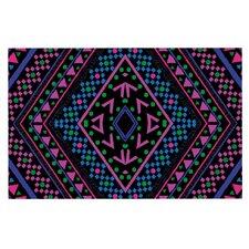 Neon Pattern by Nika Martinez Decorative Doormat