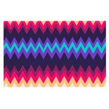 Surf Chevron by Nika Martinez Decorative Doormat