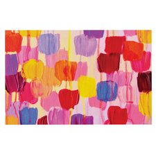 Dotty in Pink by Ebi Emporium Decorative Doormat