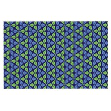 Infinite Flowers by Nick Atkinson Decorative Doormat