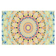 Flourish by Iris Lehnhardt Circle Decorative Doormat