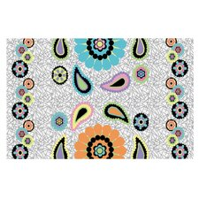 Moda Paisley by Nina May Paisley Flower Decorative Doormat