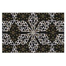 Ethnical Snowflakes by Miranda Mol Decorative Doormat