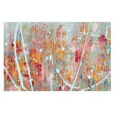 Joy by Iris Lehnhardt Splatter Paint Decorative Doormat