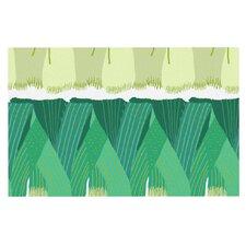 Leeks by Laura Nicholson Decorative Doormat