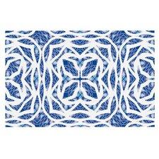 Blue Explosion by Miranda Mol Decorative Doormat