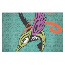 Hummingbird & Friends by Louie Gong Decorative Doormat