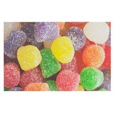 I Want Gum Drops by Libertad Leal Decorative Doormat