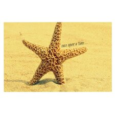 Once upon a Time by Robin Dickinson Starfish Decorative Doormat