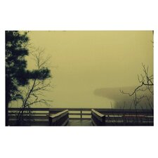 Fog On The River by Robin Dickinson Decorative Doormat