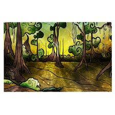 Aligator Swamp by Mandie Manzano Decorative Doormat
