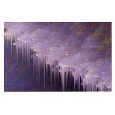 Malibu by Michael Sussna Purple Decorative Doormat