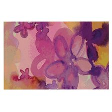 Dissolved Flowers by Louise Machado Decorative Doormat