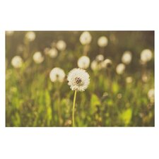 As You Wish by Libertad Leal Dandelions Decorative Doormat