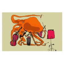Playful Octopus by Marianna Tankelevich Decorative Doormat