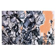 Inky Bouquet by Sonal Nathwani Decorative Doormat