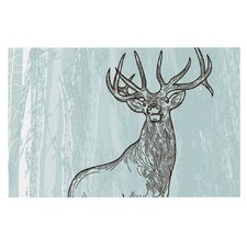 Elk Scene by Sam Posnick Decorative Doormat
