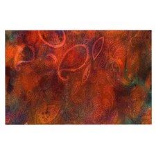 Tie Dye Paisley by Nikki Strange Decorative Doormat