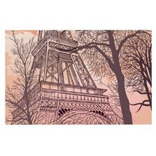 Eiffel Tower by Sam Posnick Decorative Doormat