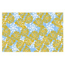 Flowers by Nandita Singh Floral Decorative Doormat