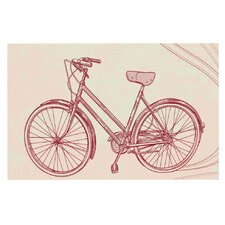 Bicycle by Sam Posnick Decorative Doormat