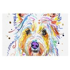 Bella by Rebecca Fischer Scottish Terrier Decorative Doormat