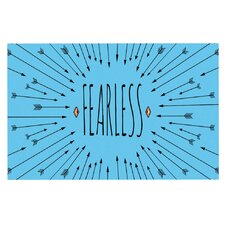 Fearless by Skye Zambrana Decorative Doormat