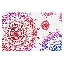 Rainbow Infinity by Monika Strigel Decorative Doormat