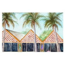 McT on Sanibel by Rosie Brown Decorative Doormat