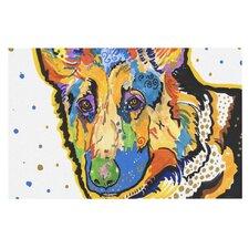 Floyd by Rebecca Fischer German Shepard Decorative Doormat