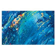 Big Wave by Theresa Giolzetti Decorative Doormat